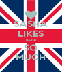 SASHA LIKES KOJI SO MUCH - Personalised Poster A4 size