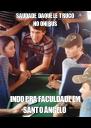 SAUDADE DAQUELE TRUCO NO ÔNIBUS INDO PRA FACULDADE EM SANTO ÂNGELO - Personalised Poster A4 size