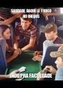 SAUDADE DAQUELE TRUCO NO ÔNIBUS INDO PRA FACULDADE - Personalised Poster A4 size
