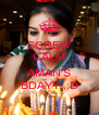 SCREW CALM IT'S AMAN'S BDAYY..:D - Personalised Poster A4 size