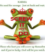 SCREW  IT   LET'S     DO   IT - Personalised Poster A4 size