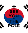 SEE YOU AT THE POLE - Personalised Poster A4 size