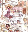 SEE YOU in next life AND don't be late - Personalised Poster A4 size