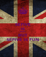 SEFIVE IS NOISY BUT SEFIVE IS FUN - Personalised Poster A4 size