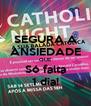SEGURA A ANSIEDADE QUE Só falta 1 dia! - Personalised Poster A4 size