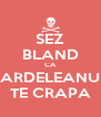 SEZ BLAND CA ARDELEANU TE CRAPA - Personalised Poster A4 size