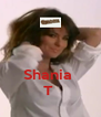 Shania  T  - Personalised Poster A4 size