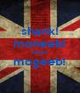 shank! moneeb! keep! mogeeb!  - Personalised Poster A4 size