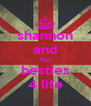 shannon and deji besties 4 life - Personalised Poster A4 size