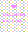 SHAZNEEN IS AWESOME!!  - Personalised Poster A4 size