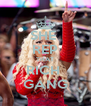 SHE  REP THAT RICH  GANG - Personalised Poster A4 size