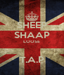 SHEEP SHAAP LOOSE  T.A.P - Personalised Poster A4 size