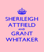 SHERILEIGH ATTFIELD AND GRANT WHITAKER - Personalised Poster A4 size