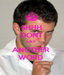 SHHH DONT SAY  ANOTHER  WORD  - Personalised Poster A4 size