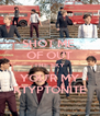 SHOT ME  OF OUT THE SKY YOU'R MY KTYPTONITE - Personalised Poster A4 size