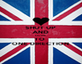 SHUT UP AND LISTEN TO  ONE DIRECTION - Personalised Poster A4 size