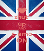 shut  up AND ti amo ON - Personalised Poster A4 size
