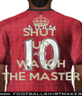 SHUT  UP AND  WATCH THE MASTER - Personalised Poster A4 size