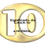 Significado da CASA 10  .  .  . a HONRA - Personalised Poster A4 size