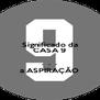 Significado da CASA 9  .  .  . a ASPIRAÇÃO - Personalised Poster A4 size
