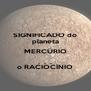 SIGNIFICADO do planeta MERCÚRIO .  .  . o RACIOCÍNIO - Personalised Poster A4 size