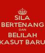 SILA BERTENANG DAN BELILAH KASUT BARU - Personalised Poster A4 size