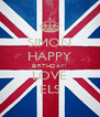 SIMON HAPPY BIRTHDAY! LOVE ELS - Personalised Poster A4 size
