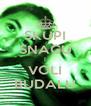 SKUPI SNAGU I VOLI BUDALU - Personalised Poster A4 size