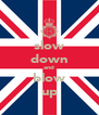 slow down and blow up - Personalised Poster A4 size