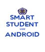 SMART STUDENT use ANDROID  - Personalised Poster A4 size