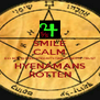 SMILE CALM DO NOT @ FEEL-INTEGRITY-TIME-HONESTY -TRUST HYENAMANS ROTTEN - Personalised Poster A4 size