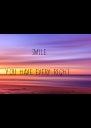 Smile.  You have every right. - Personalised Poster A4 size