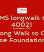 SMS longwalk to 40021 To donate R20  To Long Walk to Qunu A Dark Rose Foundation initiative  - Personalised Poster A4 size