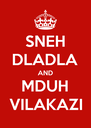 SNEH DLADLA AND MDUH VILAKAZI - Personalised Poster A4 size