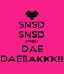 SNSD SNSD SNSD DAE DAEBAKKK!! - Personalised Poster A4 size