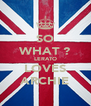 SO WHAT ? LERATO LOVES ARCHIE - Personalised Poster A4 size