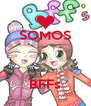 SOMOS    BFFs - Personalised Poster A4 size