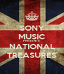 SONY MUSIC PRESENTS NATIONAL TREASURES - Personalised Poster A4 size
