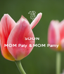 SOON TO BE MOM Paty & MOM Pamy  - Personalised Poster A4 size