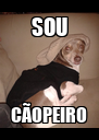 SOU CÃOPEIRO - Personalised Poster A4 size