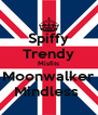Spiffy Trendy Misfits Moonwalker Mindless  - Personalised Poster A4 size