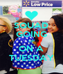 SQUAD GOING UP ON A TUESDAY - Personalised Poster A4 size