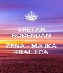 SRETAN ROĐENDAN HELENA ŽENA - MAJKA KRALJICA - Personalised Poster A4 size