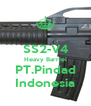 SS2-V4 Heavy Barriel PT.Pindad Indonesia - Personalised Poster A4 size