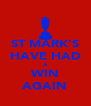 ST MARK'S HAVE HAD A WIN AGAIN - Personalised Poster A4 size