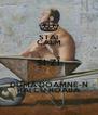 STAI CALM ȘI ZÎ DUMÂ DOAMNE-N RAI CU ROABA - Personalised Poster A4 size