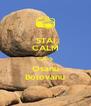 STAI CALM CA-S Osanu Bolovanu - Personalised Poster A4 size