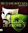 STAI CALM SI  BATETI JOC DE PROFE :) - Personalised Poster A4 size