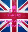 STAI CALM SI  CUMPARATI iPhone - Personalised Poster A4 size