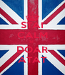 STAI CALM SI  DOAR ATAT - Personalised Poster A4 size